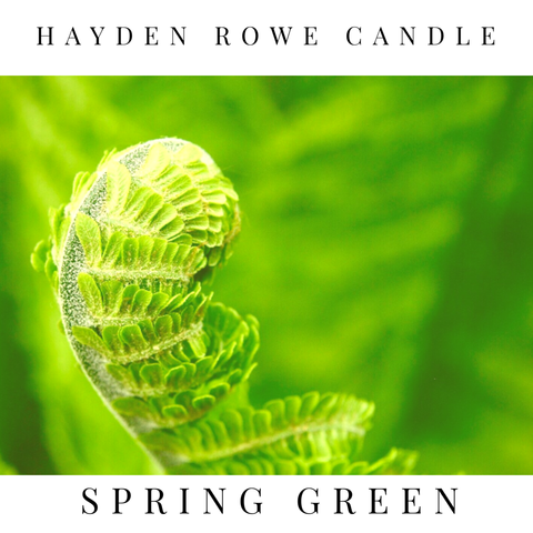 Spring Green Scented Wax