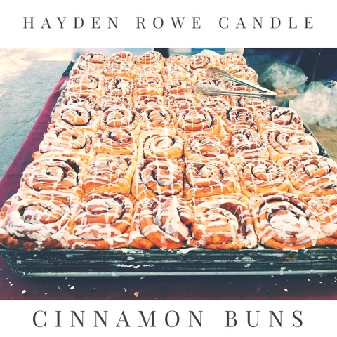 Cinnamon Buns Scented Wax