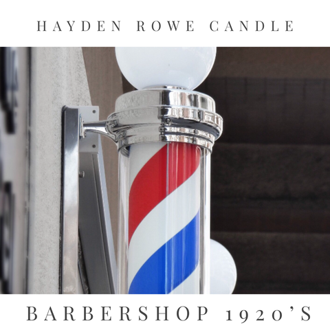 Barbershop 1920's Scented Wax
