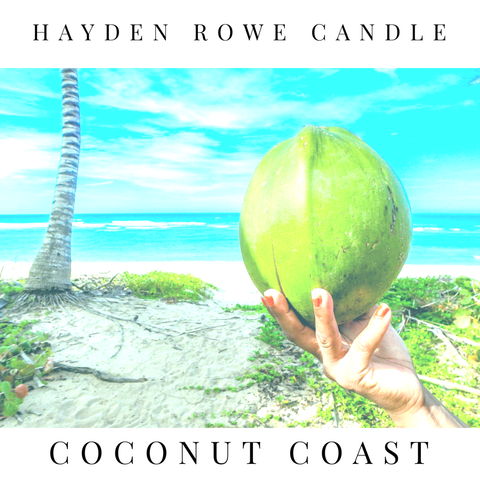 Coconut Coast Scented Wax
