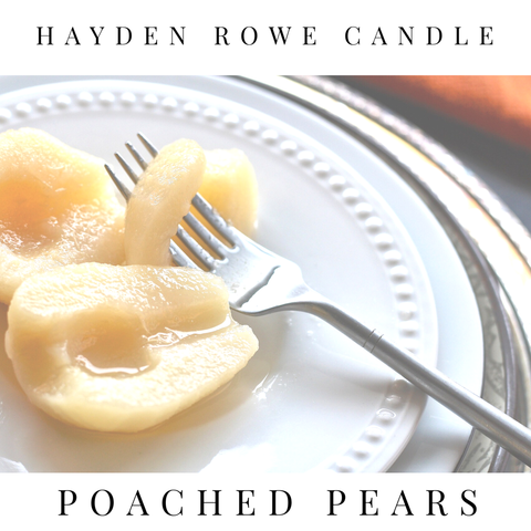 Poached Pears Scented Wax