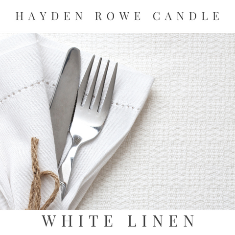 White Linen Scented Wax