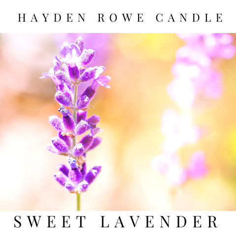 Sweet Lavender Scented Wax