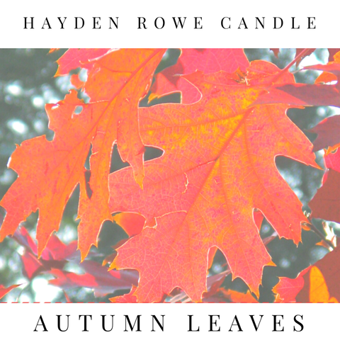Autumn Leaves Scented Wax