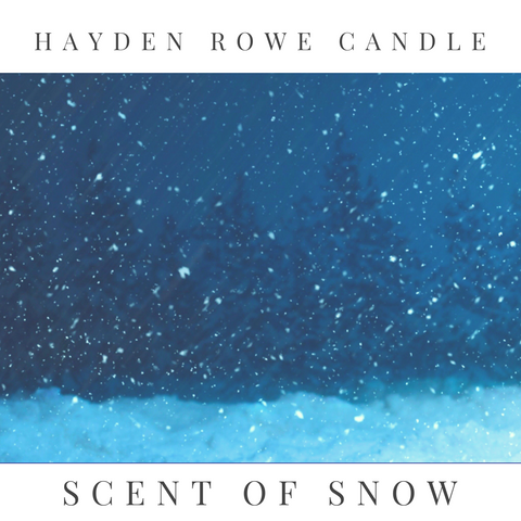 Scent of Snow Scented Wax