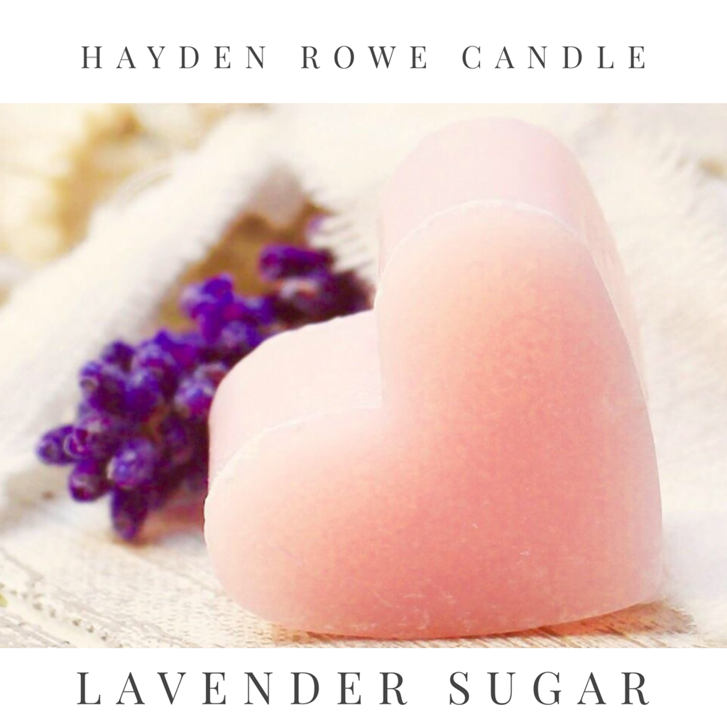 Lavender Sugar Scented Wax