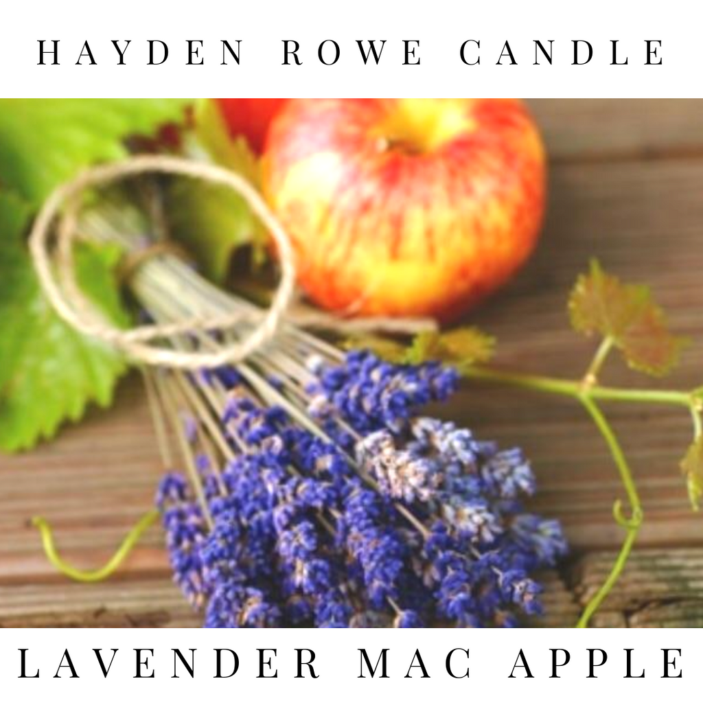Lavender Mac Apple Scented Wax