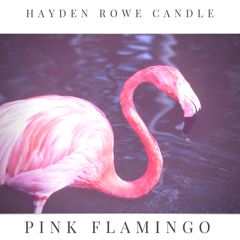 Pink Flamingo Scented Wax