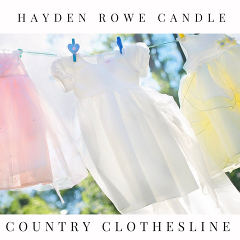 Country Clothesline Scented Wax