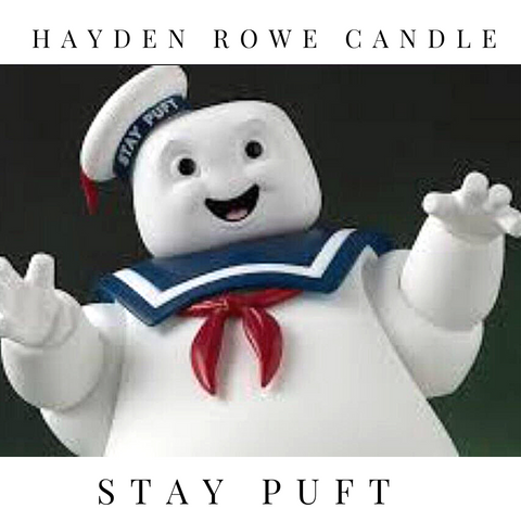 Pre-order Stay Puft Scented Wax