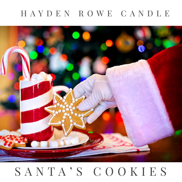 Santa's Cookies Scented Wax