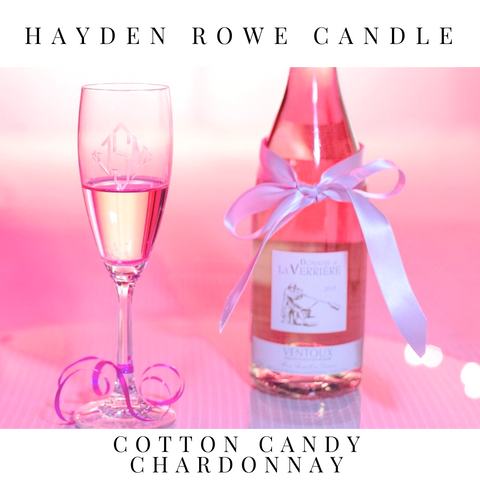 Cotton Candy Chardonnay Scented Wax