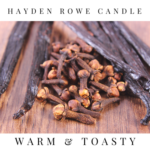Warm & Toasty Scented Wax