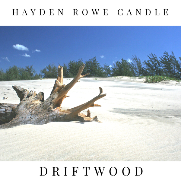 Driftwood Scented Wax