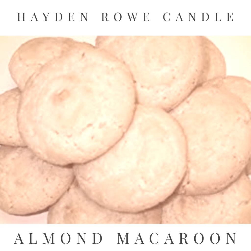 Almond Macaroon Scented Wax