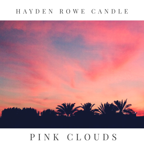 Pink Clouds Scented Wax