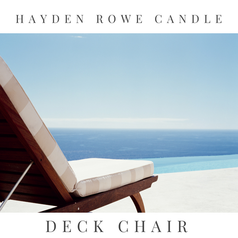 Pre-order Deck Chair Scented Wax