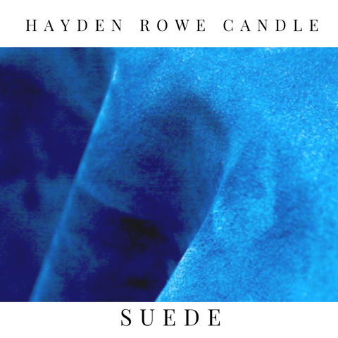 Suede Scented Wax