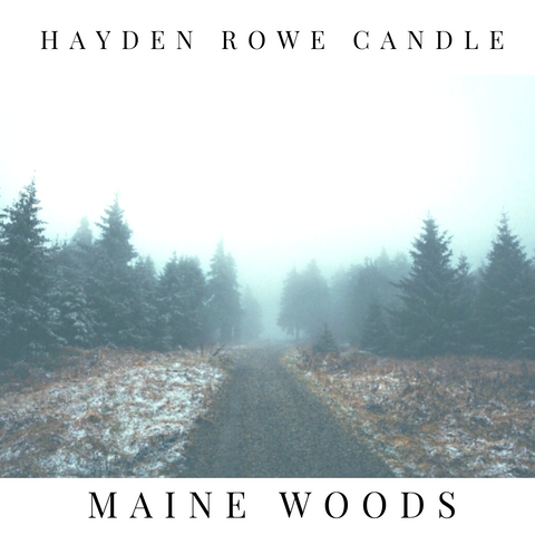 Maine Woods Scented Wax