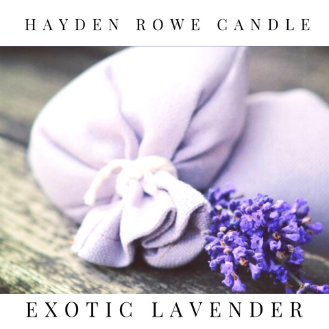Exotic Lavender Scented Wax