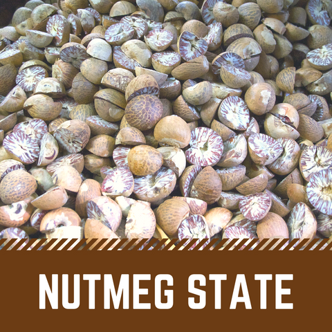 Nutmeg State Scented Wax