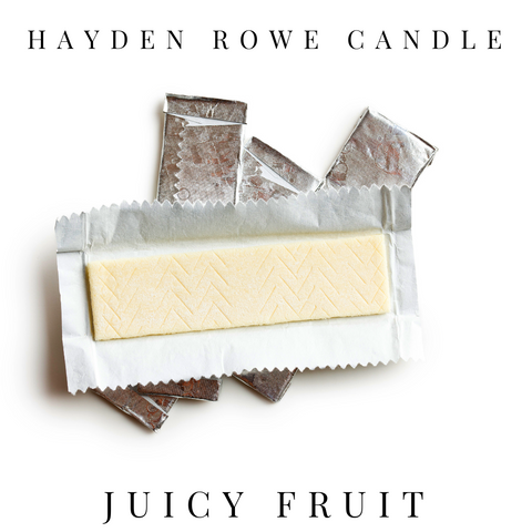 Juicy Fruit Scented Wax