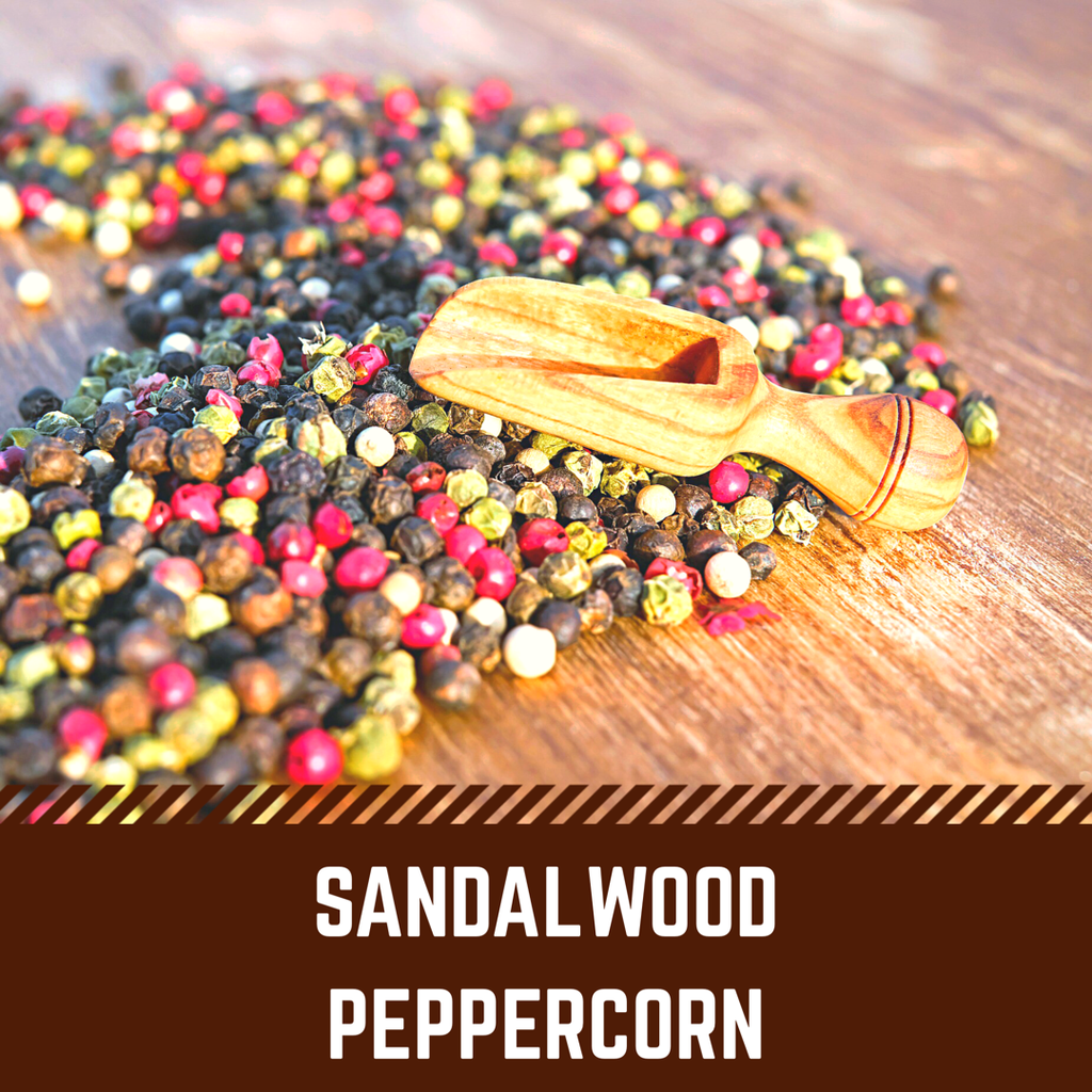 Sandalwood Peppercorn Scented Wax