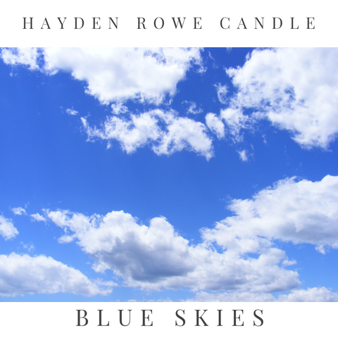 Blue Skies Scented Wax