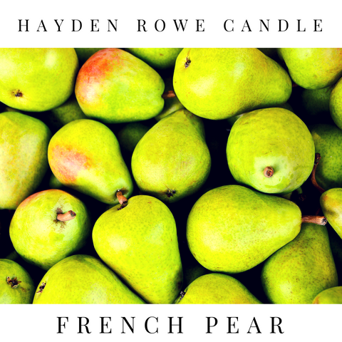 French Pear Scented Wax