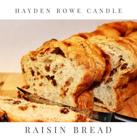 Raisin Bread Scented Wax