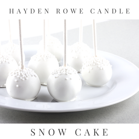 Snow Cake Scented Wax