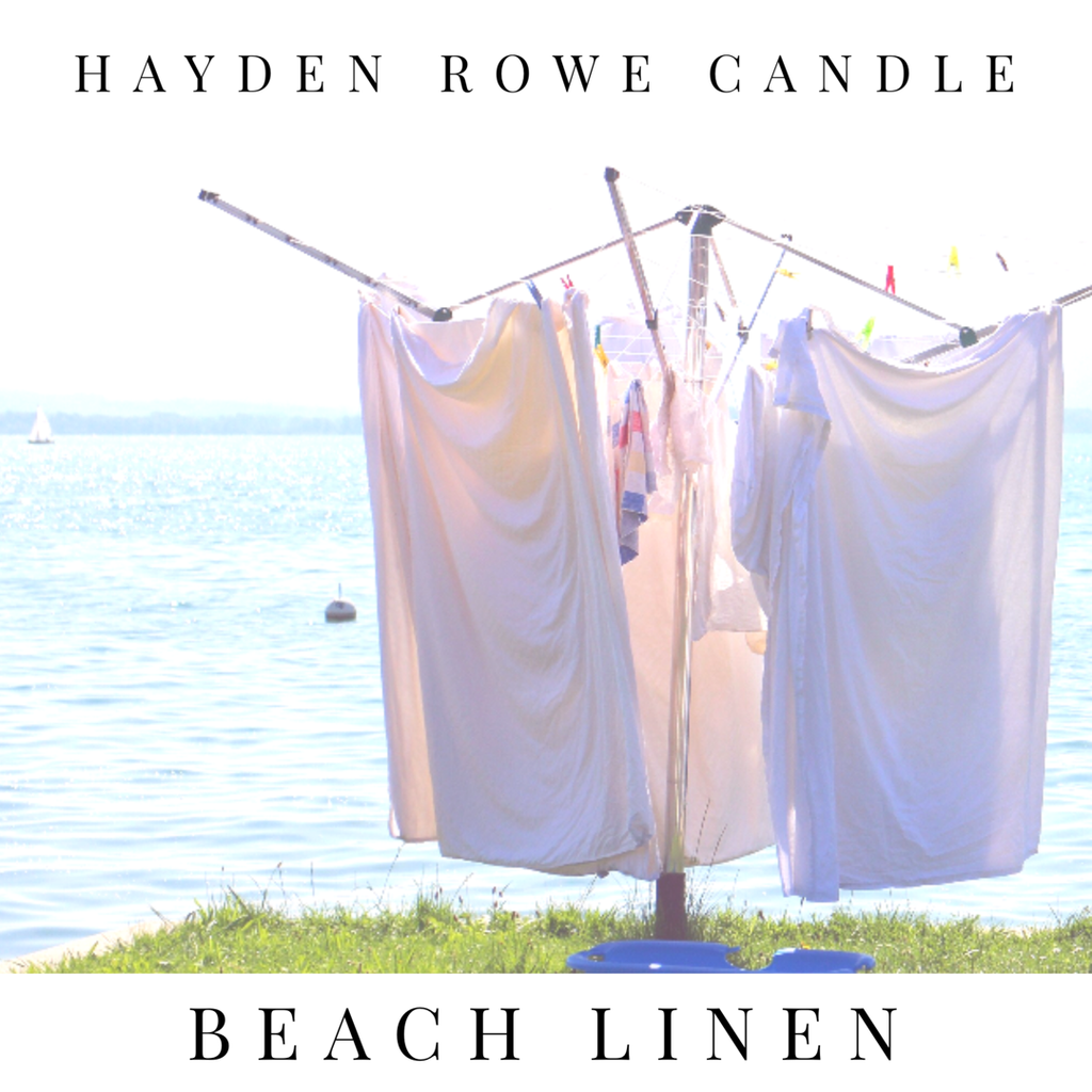 Beach Linen Scented Wax