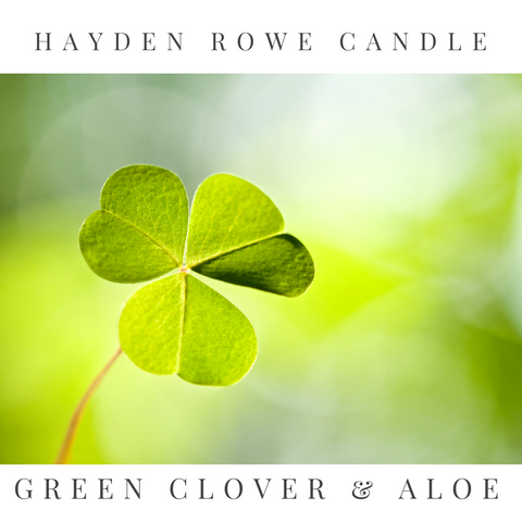 Green Clover & Aloe Scented Wax