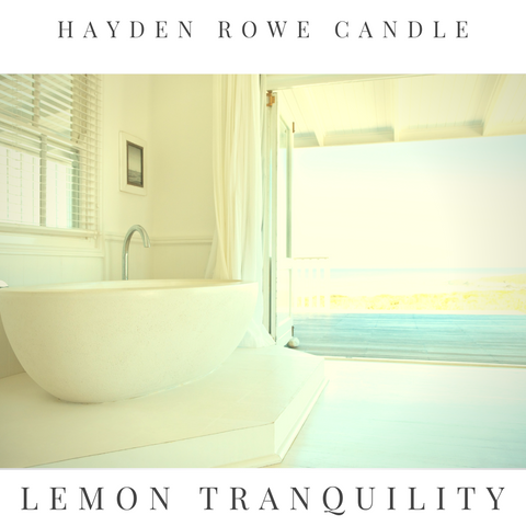 Lemon Tranquility Scented Wax