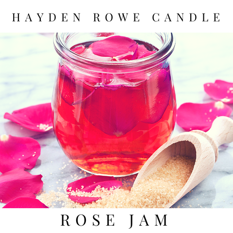Rose Jam Scented Wax