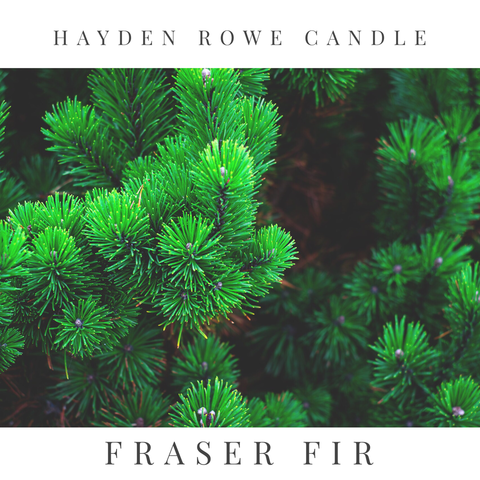Fraser Fir Scented Wax