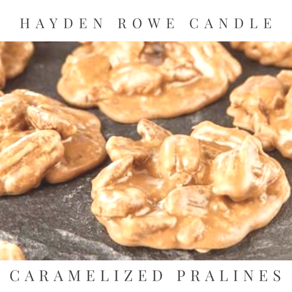 Caramelized Pralines Scented Wax