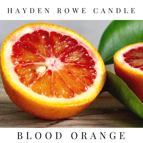 Blood Orange Scented Wax