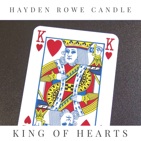 King of Hearts Scented Wax