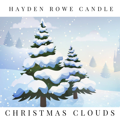 Christmas Clouds Scented Wax