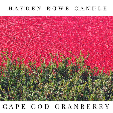 Cape Cod Cranberry Scented Wax