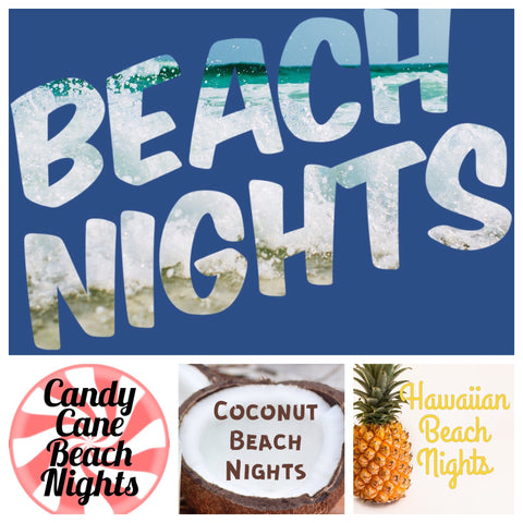 Beach Nights Type Sampler