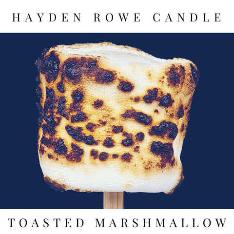 Toasted Marshmallow Scented Wax