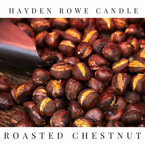 Roasted Chestnut Scented Wax