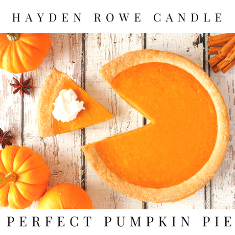 Perfect Pumpkin Pie Scented Wax