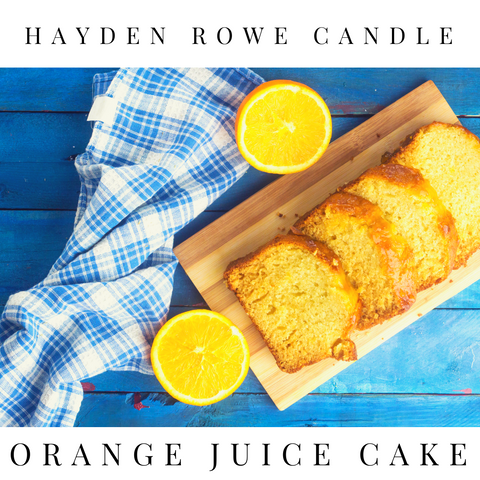 Orange Juice Cake Scented Wax