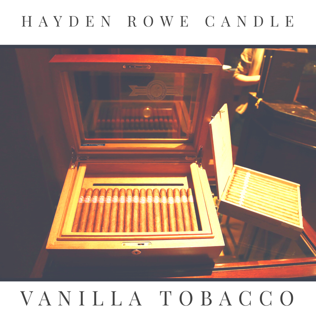 Vanilla Tobacco Scented Wax