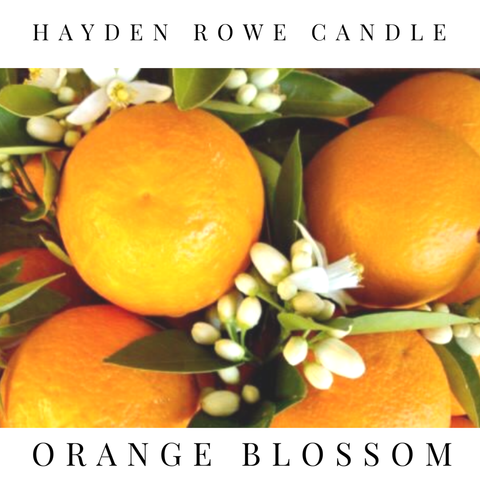 Orange Blossom Scented Wax