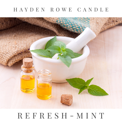 Refresh-Mint Scented Wax