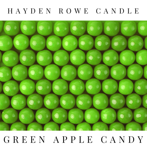 Green Apple Candy Scented Wax
